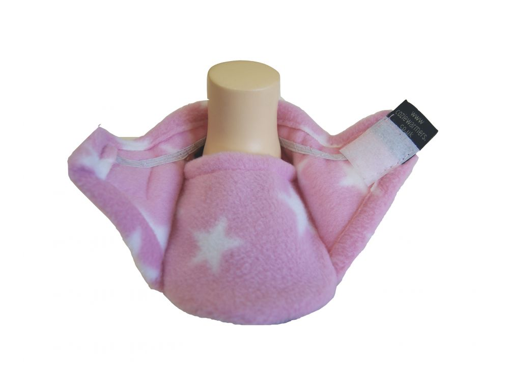 pink star baby girl slippers