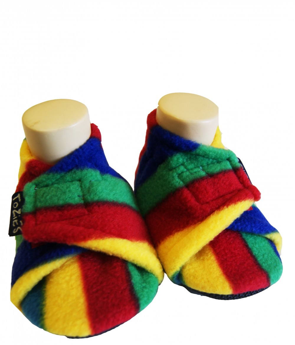 Funfair baby girl slippers