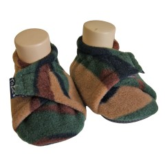 Camo Toddler Baby Slippers
