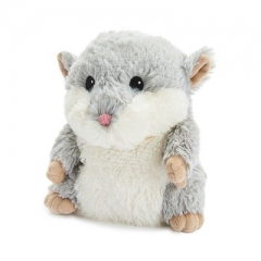 "warmies 13"" grey hamster"