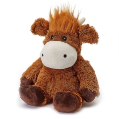 "warmies 13"" highland cow"