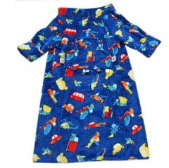 car seat blanket blue cars and trucks