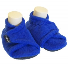 Royal blue toddler girl slippers