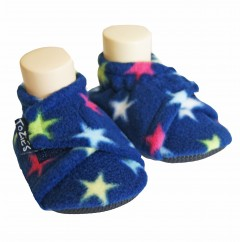 blue star toddler boy slippers